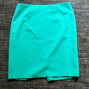 Teal pencil skirt 12